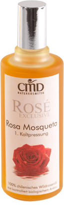CMD Naturkosmetik - Rosé Exclusive Rosa Mosqueta Wildrosenöl (Bio) - 100 ml
