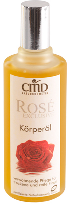 CMD Naturkosmetik - Rosé Exclusive Körperöl (Massageöl) - 100 ml
