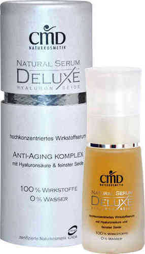CMD Naturkosmetik - Natural Serum Deluxe mit Hyaluron & Seide - 30 ml